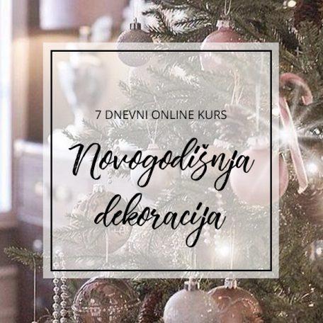 online kurs novogodišnje dekoracije