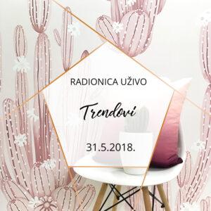 radionica trendovi enterijer workshop