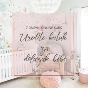 online kurs uredite kutak za dolazak bebe