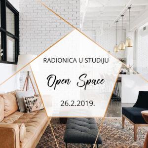 Radionica u studiju Open Space | 26.2.2019.